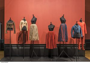 Popular garments from the 18th and 19th century. Copyright Pierre Antoine-Palais Galliera