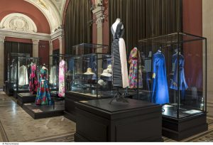View of the main room dedicated to modern fashion