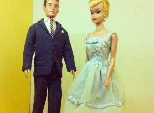 Barbie and Ken - 1960s. Personal Photograph