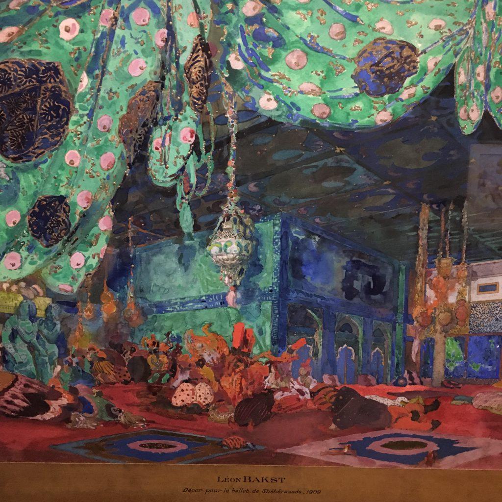 Décor for Shéhérazade, 1910. Musée des Arts décoratifs. Copyright: Hayley Mazières-Dujardin