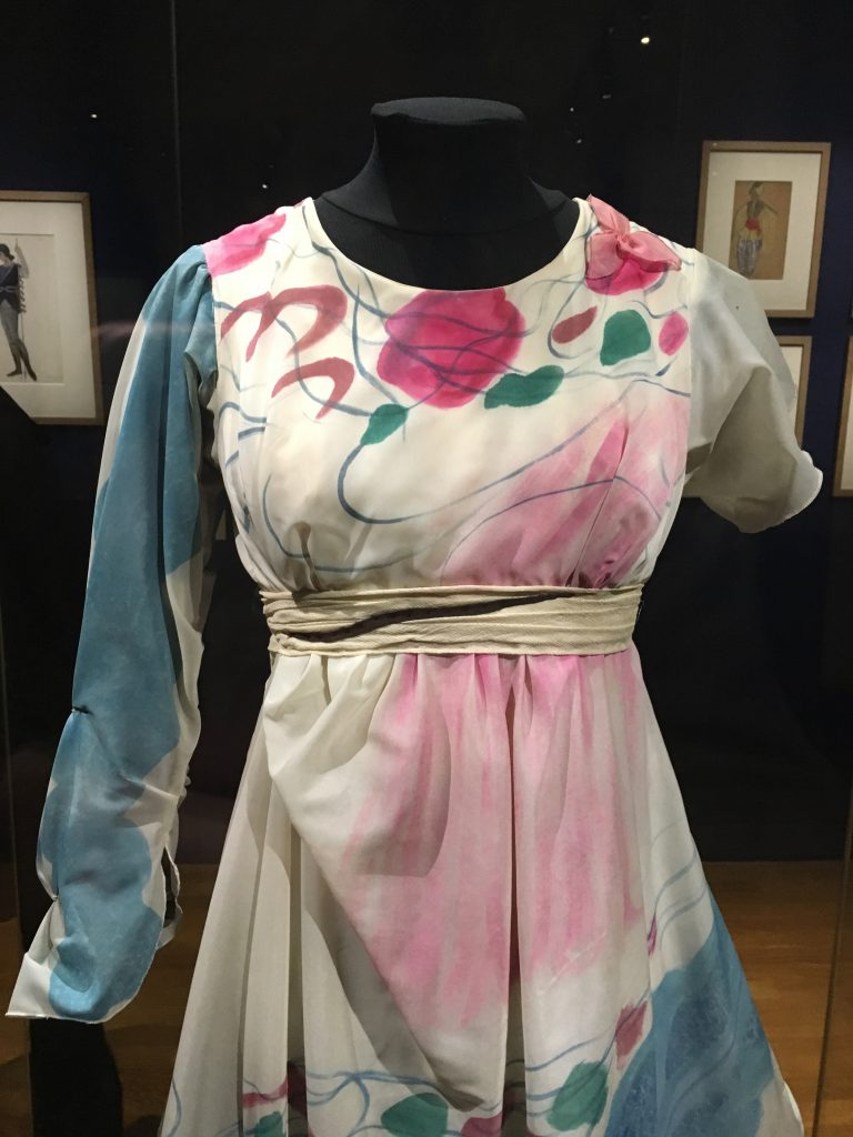 Costume by Marc Chagall for Daphnis et Chloé, 1959. Copyright: Hayley Mazières-Dujardin