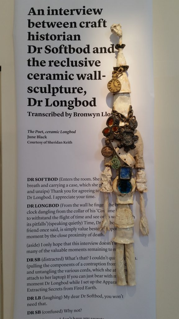 The Longbod, June Black, Objectspace 2015.